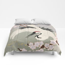 Japanese Crane Comforters