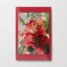 Sugarplum Fairy DPGF121225a Metal Print