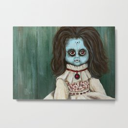 Creepy Christine Metal Print