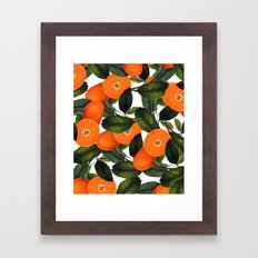 The Forbidden Orange #society6 #decor #buyart Framed Art Print