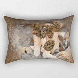 Mushroom Tile Rectangular Pillow