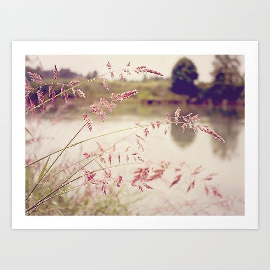 Rivers Edge Art Print