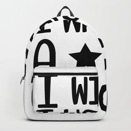 i wish i was a unicorn Backpack