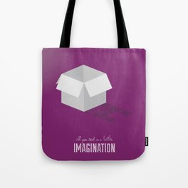 Never Forget to Play - Cardboard Box Tote Bag