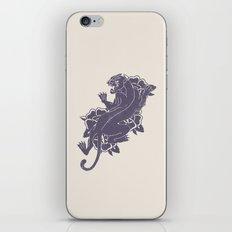 Panther Tattoo Flash iPhone & iPod Skin