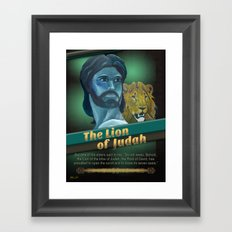 The Lion Of Judah 1 Framed Art Print