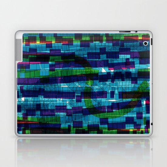 squares traffic Laptop & iPad Skin