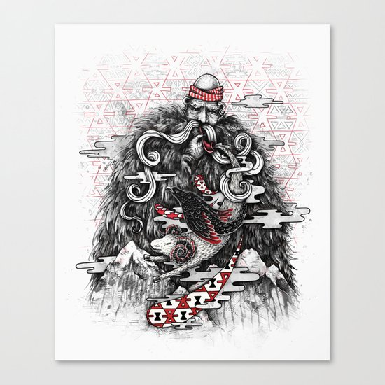 Call of Tradition Canvas Print