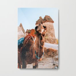 Golden Hour | Cappadocia, Turkey Metal Print