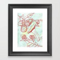 Forest Finds Framed Art Print