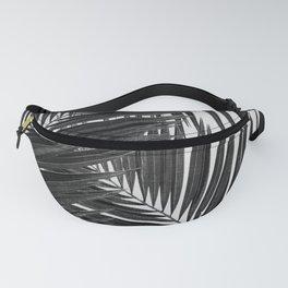 Palm Leaf Black & White III Fanny Pack