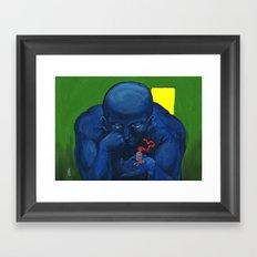 It's really love? Framed Art Print