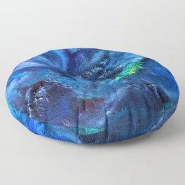 Blue Anemone Floor Pillow