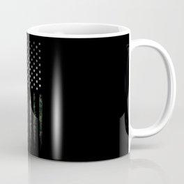 Khaki american flag Coffee Mug