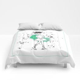 Medusa in High School Comforters