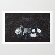 Now in Technicolour... Art Print