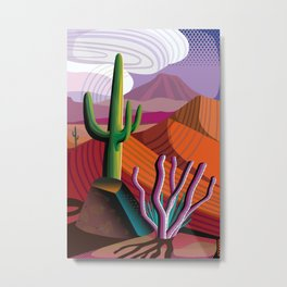 Gila River Indian Community Metal Print