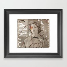 LOVE POEM Framed Art Print