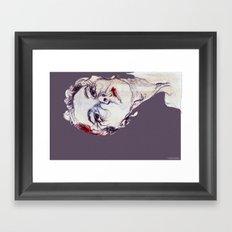 Gasa girl Framed Art Print