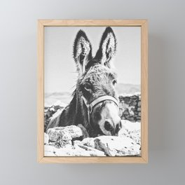 DONKEY Framed Mini Art Print