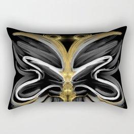 Abstract -Tiger Butterfly Rectangular Pillow