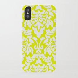 Lemon Fancy iPhone Case