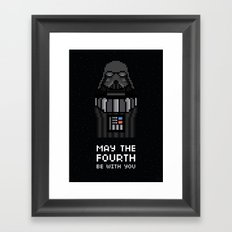 May The Fourth Framed Art Print