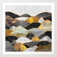 Hills Art Print