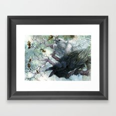 Thought and Memory Framed Art Print