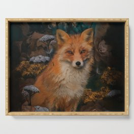 The Fox In The Forest Serving Tray