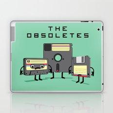 The Obsoletes (Retro Floppy Disk Cassette Tape)  Laptop & iPad Skin
