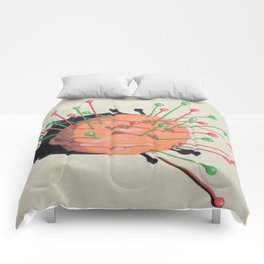 pincushion n. 1 Comforters