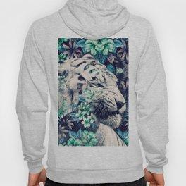 Floral Tiger Hoody