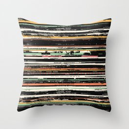 Recordsss Throw Pillow