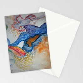 Sea flowers 1 Stationery Cards