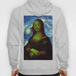 Pepe Mona Lisa/Starry Night Hoody