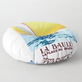 france 1931 LA BAULE LA PLAGE DU SOLEIL.Charles Hallo Floor Pillow
