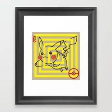 P-025 Framed Art Print
