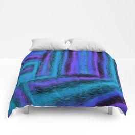 Fuzzy Blues Comforters