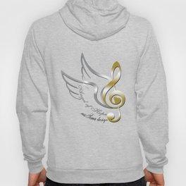 Angel of Hope Wings Hoody