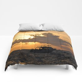 Sunrise Sail Comforters