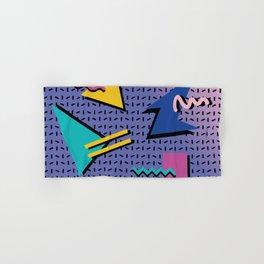Memphis Pattern 9 - 90s - Retro Hand & Bath Towel