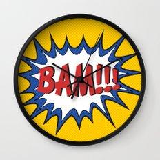 BAM Wall Clock