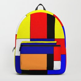 Mondrian #9 Backpack