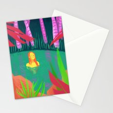 hidden lake Stationery Cards