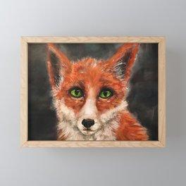 Renard Surnaturel Framed Mini Art Print