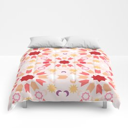 Summer Arabesque Comforters