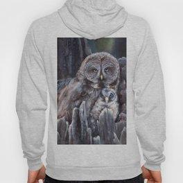 Wood  -  Owls Hoody
