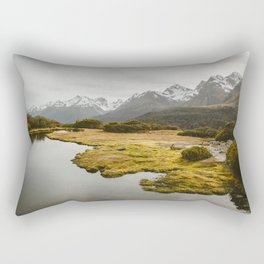 Alpine Marsh Rectangular Pillow