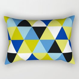Triangular Pattern Rectangular Pillow